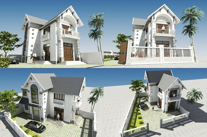 50 mẫu nhà 2 tầng mái thái TIẾT KIỆM CHI PHÍ đẹp miễn chê năm 2018