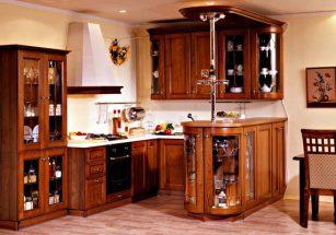 Tủ bếp gỗ tự nhiên: Giải pháp tốt cho căn bếp gia đình hiện đại