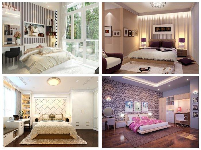 Cách trang trí phòng ngủ ĐẸP ĐƠN GIẢN 15m2 cho vợ chồng MỚI CƯỚI