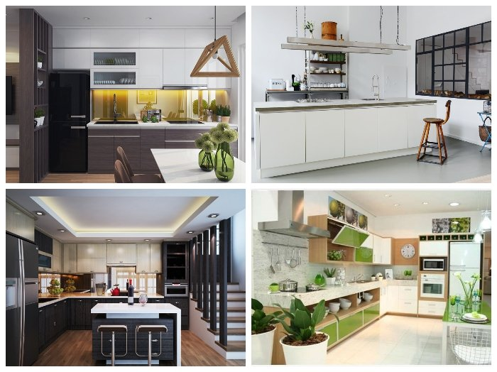 Nội thất nhà bếp thông minh thiết kế đẹp đơn giản mà hiện đại
