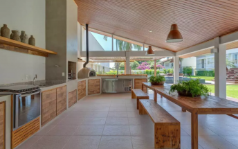 Nếu thiết kế bếp ngoài trời, bạn sẽ nghĩ như thế nào?
