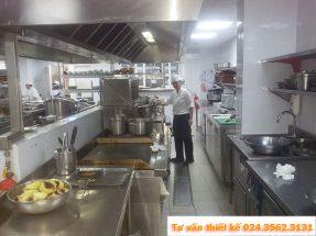 Tiêu chuẩn và quy tắc thiết kế bếp nhà hàng khách sạn