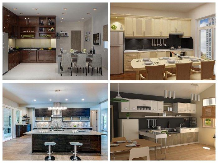 Nội thất bếp đẹp đơn giản thiết kế thông minh đón đầu mọi xu hướng thumbnail