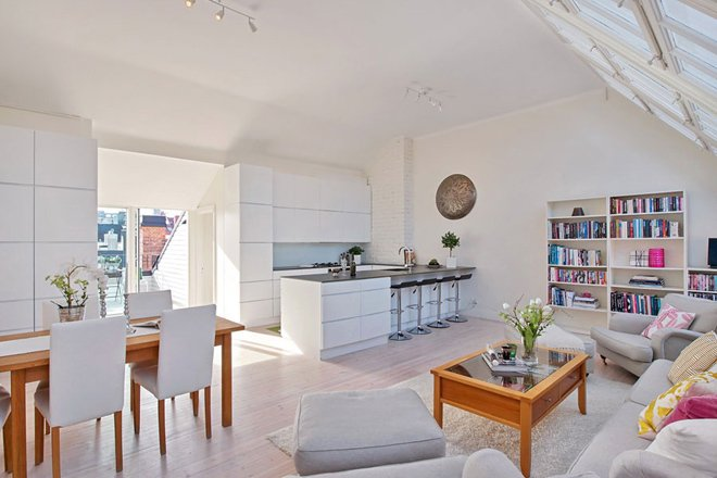 Thiết kế bếp trên tầng lửng: Ưu điểm và nhược điểm NÊN BIẾT
