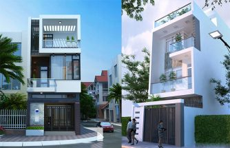Thiết kế nhà phố 3 tầng đẹp năm 2018 làm hàng ngàn gia chủ si mê