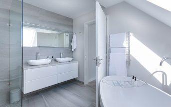 Thiết kế nhà tắm hiện đại đơn giản theo phong cách nhà phố