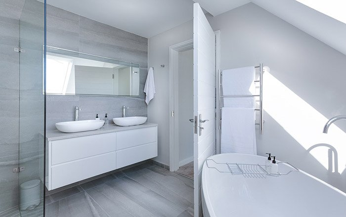 Thiết kế nhà tắm hiện đại đơn giản