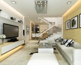 Xu hướng thiết kế nội thất nhà phố đẹp hiện đại năm 2019