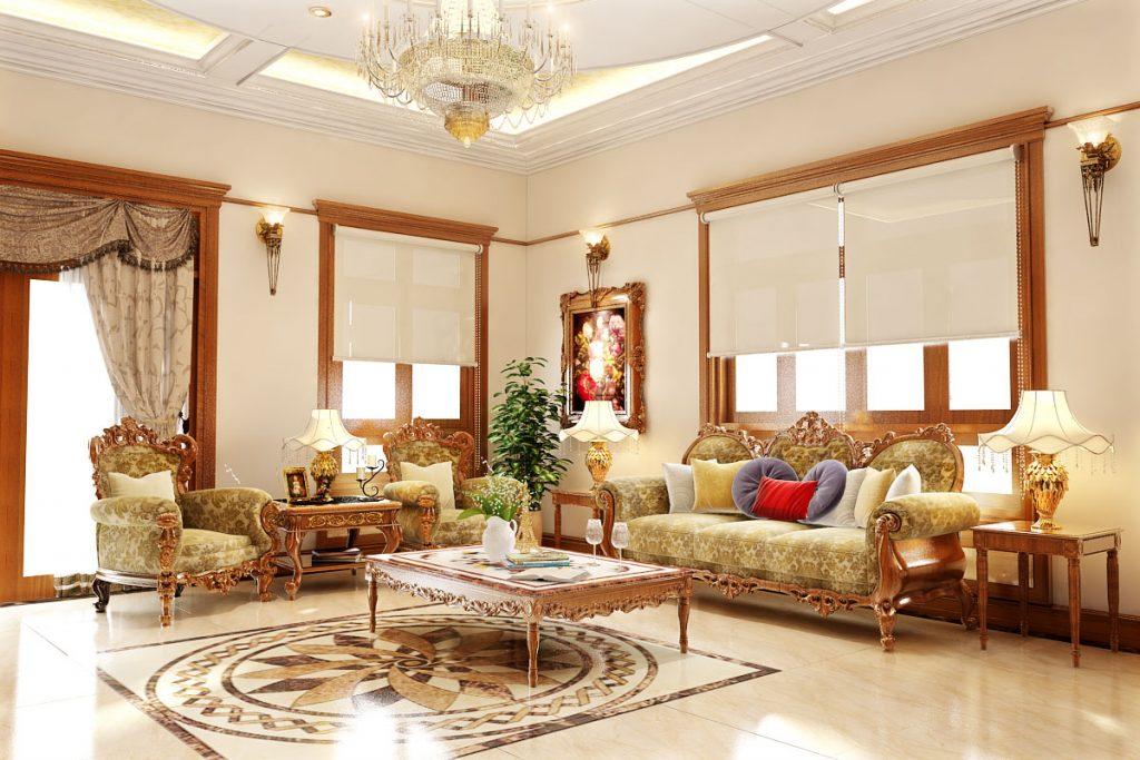 Thiết kế nội thất phòng khách ĐƠN GIẢN ĐẸP HIỆN ĐẠI năm 2018