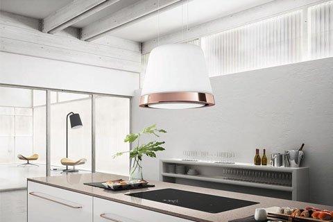 Máy hút mùi đảo Elica SUMMILUX lý tưởng cho mọi căn bếp