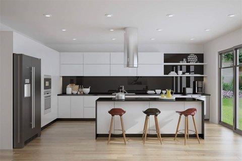 Thi công tủ bếp nhà chị Hạnh – Gỗ Acrylic