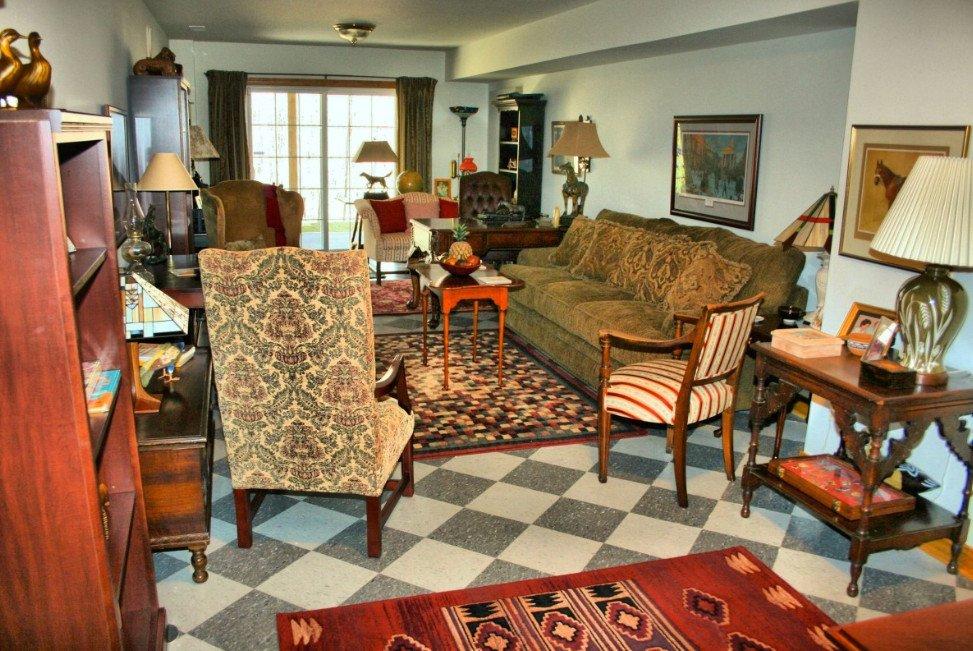 mẫu thiết kế phòng khách nhà biệt thự sang trọng hướng cổ điển