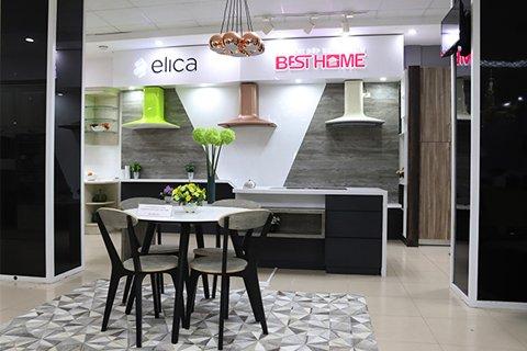 Showroom bếp Elica chính hãng ủy quyền tại Hà Nội và Hồ Chí Minh