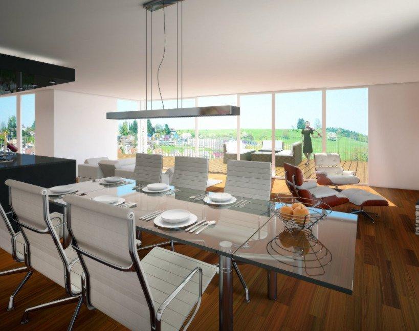 mẫu thiết kế phòng khách nhà biệt thự sang trọng hiện đại