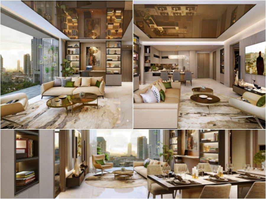 Ngắm nhìn mẫu thiết kế phòng khách nhà chung cư cao cấp đẹp sang trọng bậc nhất