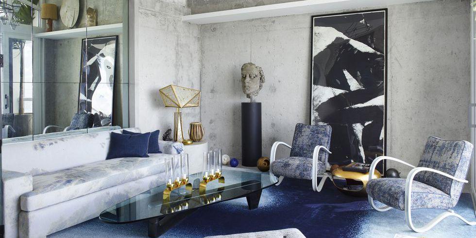Mẫu thiết kế phòng khách nhà chung cư cao cấp sang trọng kiểu nghệ thuật đương đại