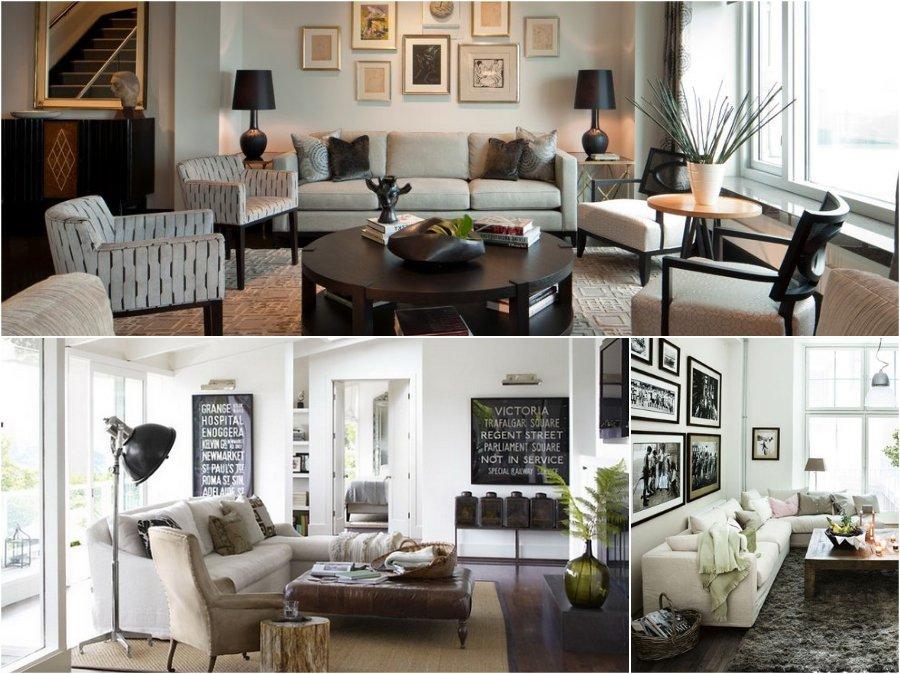 Mẫu thiết kế phòng khách nhà chung cư cao cấp đẹp kiểu Vintage