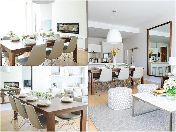 Mẫu thiết kế phòng ăn nhà chung cư cao cấp đẹp mê hồn post image