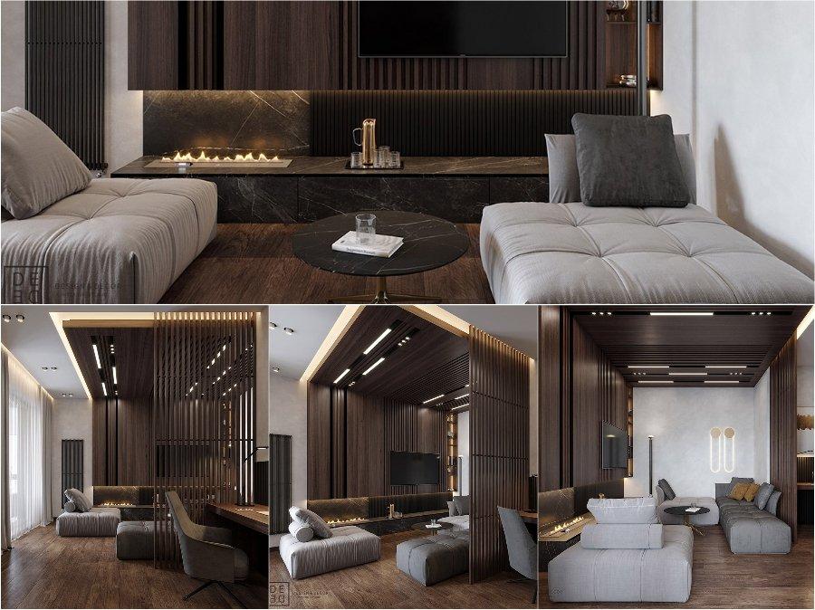 Đi khắp Châu Âu ngắm nhìn mẫu thiết kế phòng khách nhà chung cư cao cấp đẹp sang trọng post image