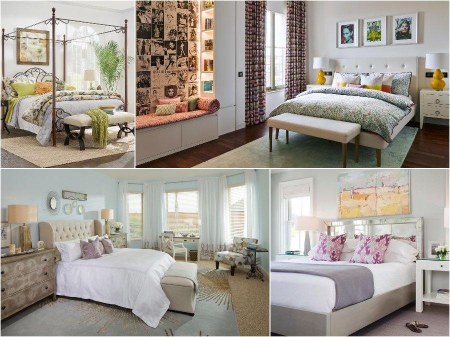 Mẫu thiết kế phòng ngủ nhà biệt thự sang trọng mang phong cách Bazaar