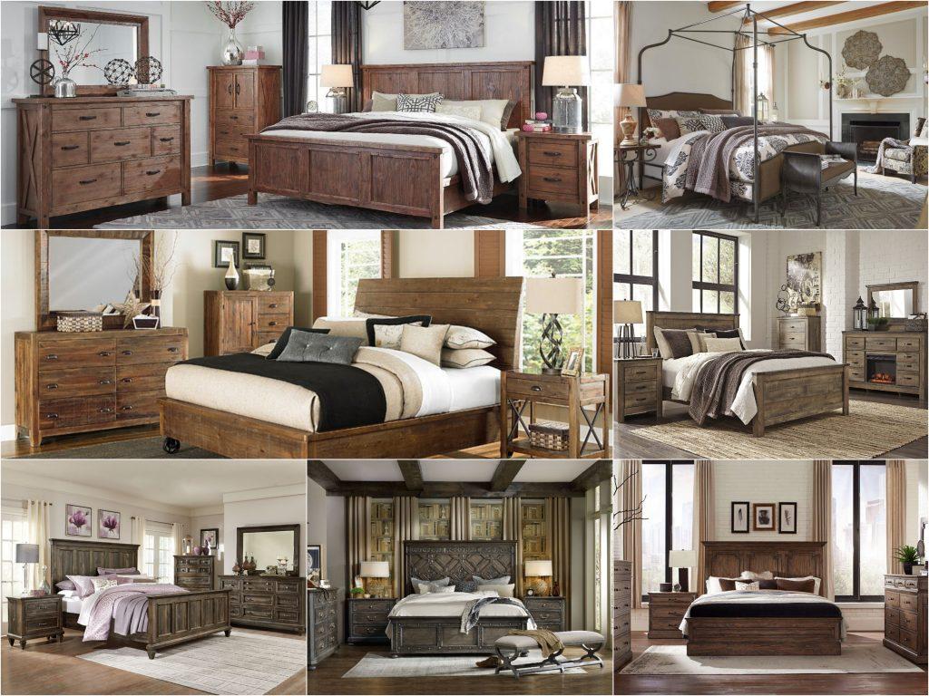 Mẫu thiết kế phòng ngủ nhà biệt thự Châu Âu Vintage