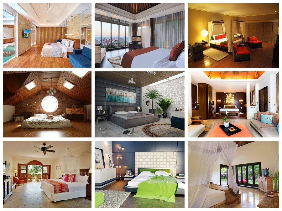 Mẫu thiết kế phòng ngủ nhà biệt thự cao cấp hiện đại đẳng cấp