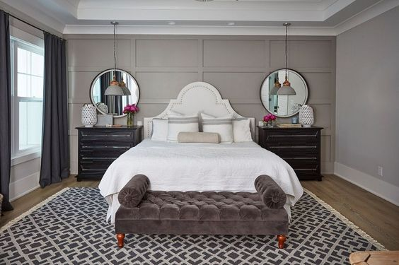 Mẫu thiết kế phòng ngủ nhà chung cư sang trọng tông màu trung tính