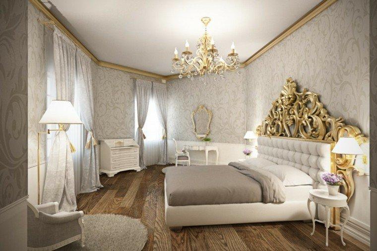 Mẫu thiết kế phòng ngủ nhà biệt thự đẹp Châu Âu sang trọng