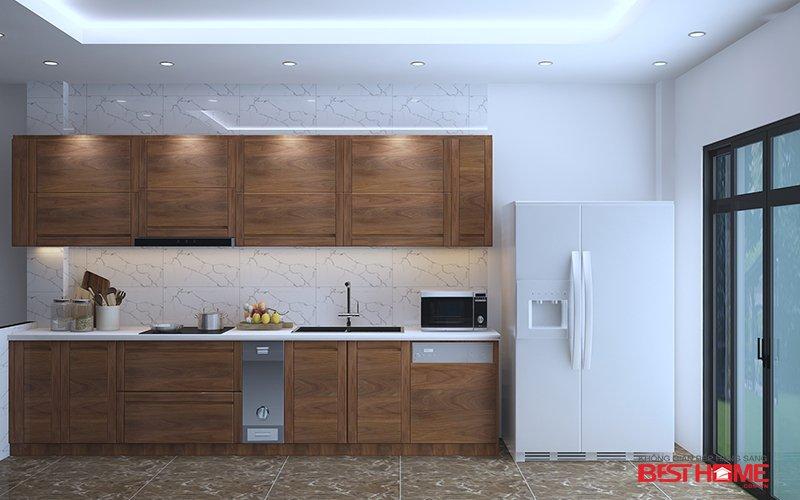Giải pháp tủ bếp thông minh cho nhà nhỏ