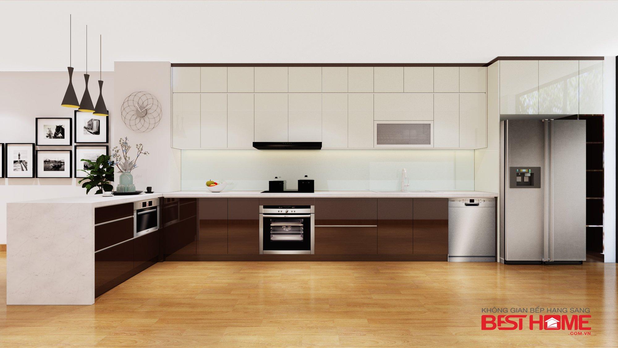10 lý do bạn nên làm tủ bếp bằng gỗ Acrylic post image