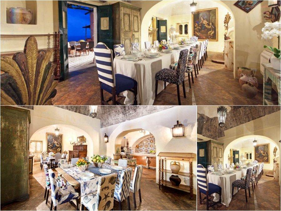 Mẫu thiết kế phòng ăn nhà biệt thự của đất nước Tây Ban Nha