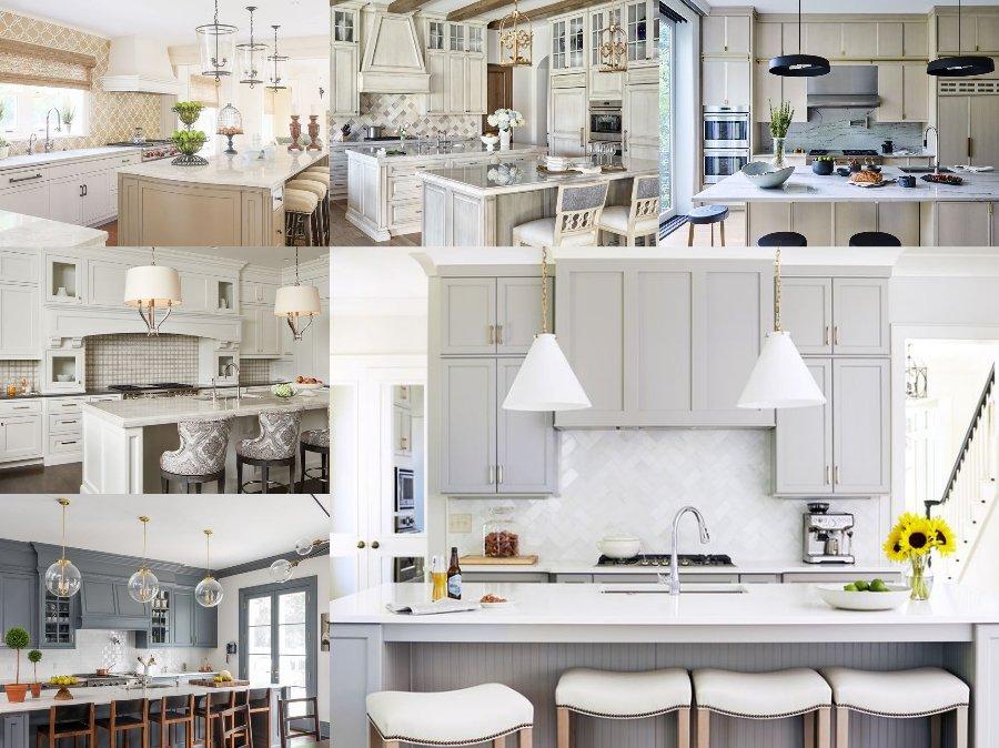 Mẫu thiết kế phòng bếp nhà biệt thự cao cấp Châu Âu