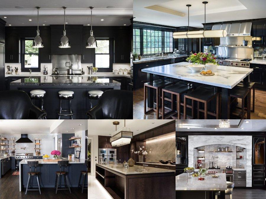 Mẫu thiết kế phòng bếp nhà biệt thự cao cấp sang trọng