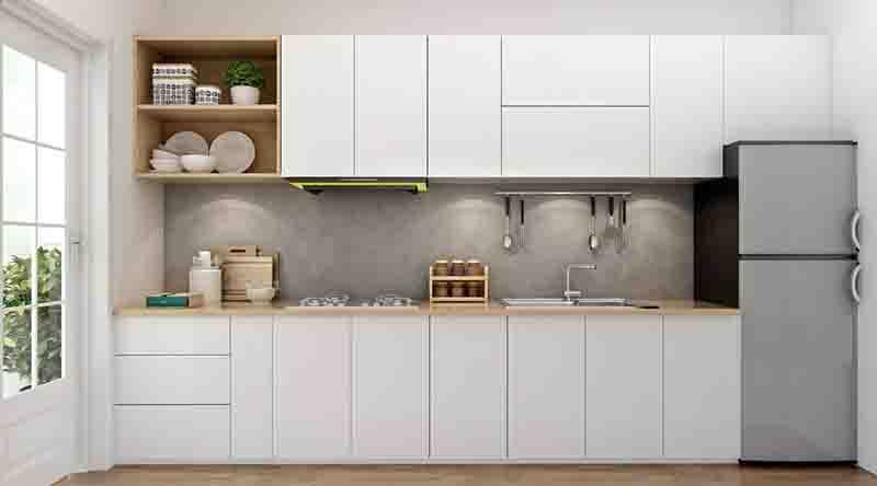 Vật liệu sản xuất tủ bếp được tin dùng nhất hiện nay