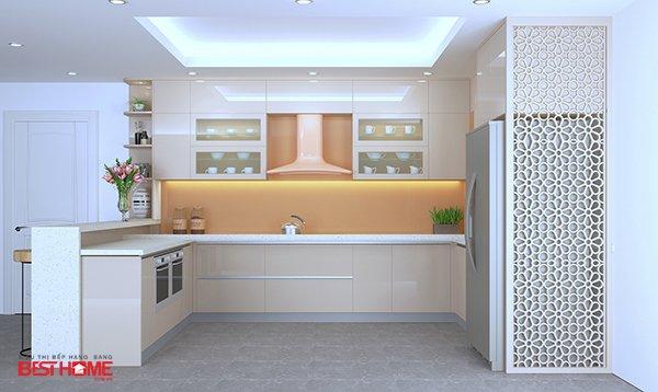 Không gian bếp độc đáo nhà Mrs. Hạnh – La Phù, Hoài Đức
