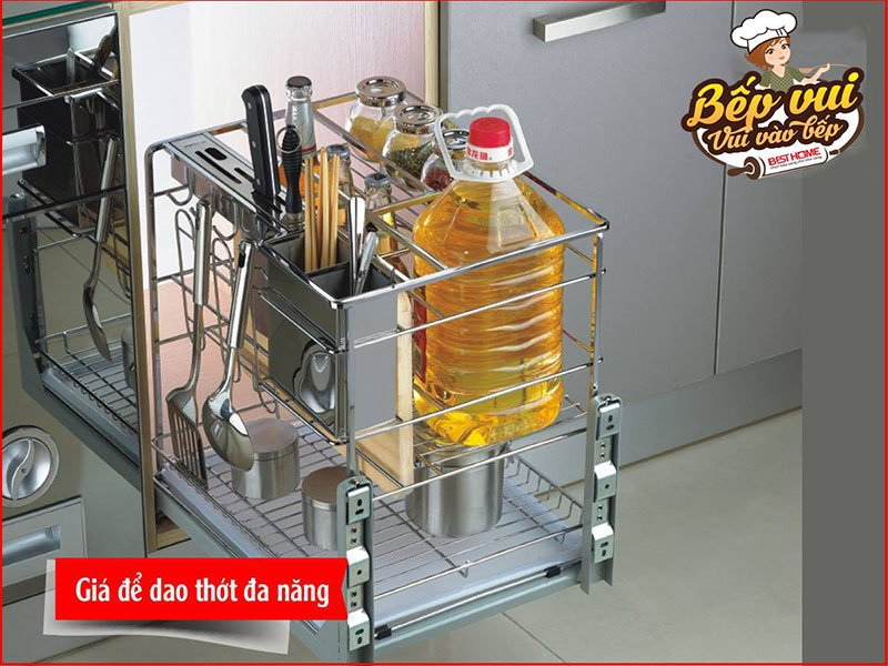 Tổng hợp mẫu giá để dao thớt – phụ kiện tủ bếp thông minh cho nhà bếp hiện đại post image
