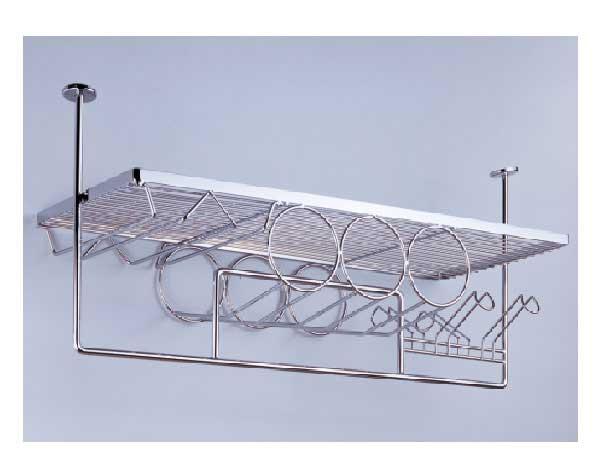 Chia sẻ những mẫu giá treo tường tủ bếp và bar được tin dùng