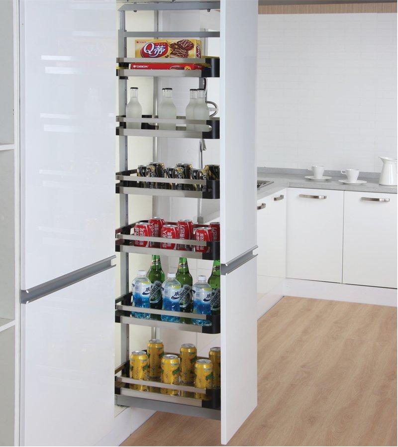 Nên hay không sử dụng tủ kho cho nhà bếp?