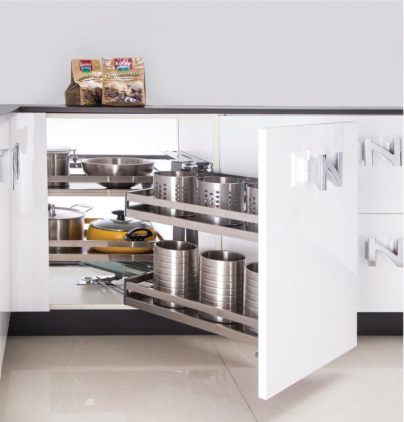 Làm thế nào để tiết kiệm không gian lưu trữ cho nhà bếp