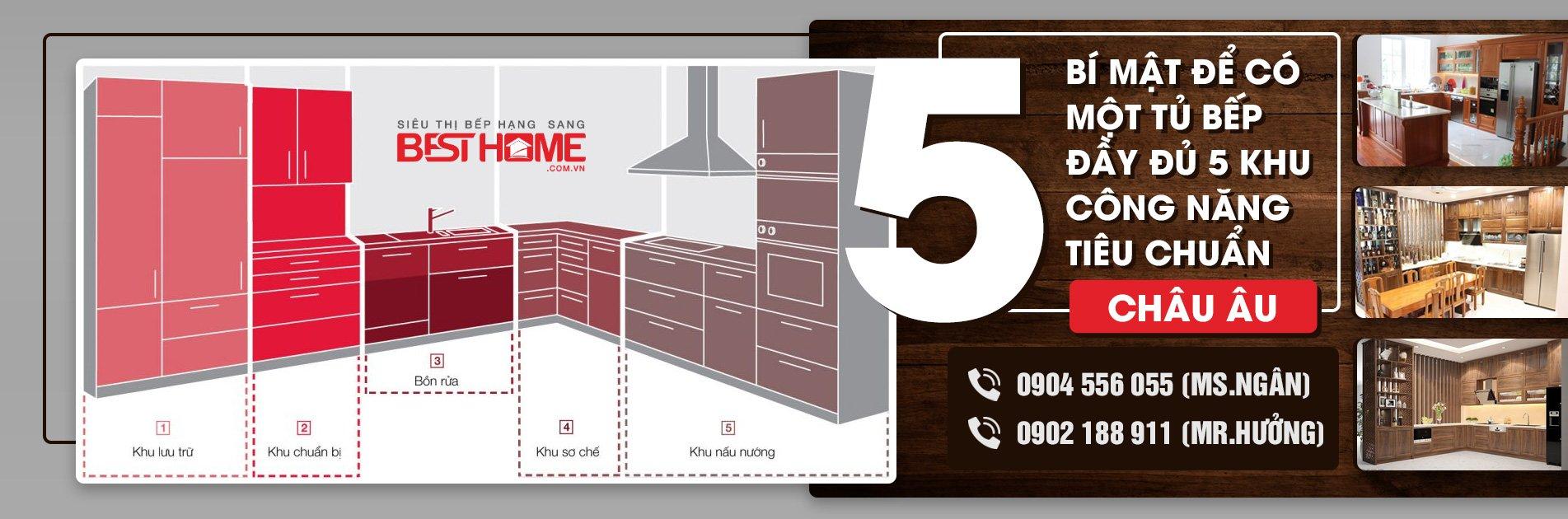 5 bí mật về tủ bếp