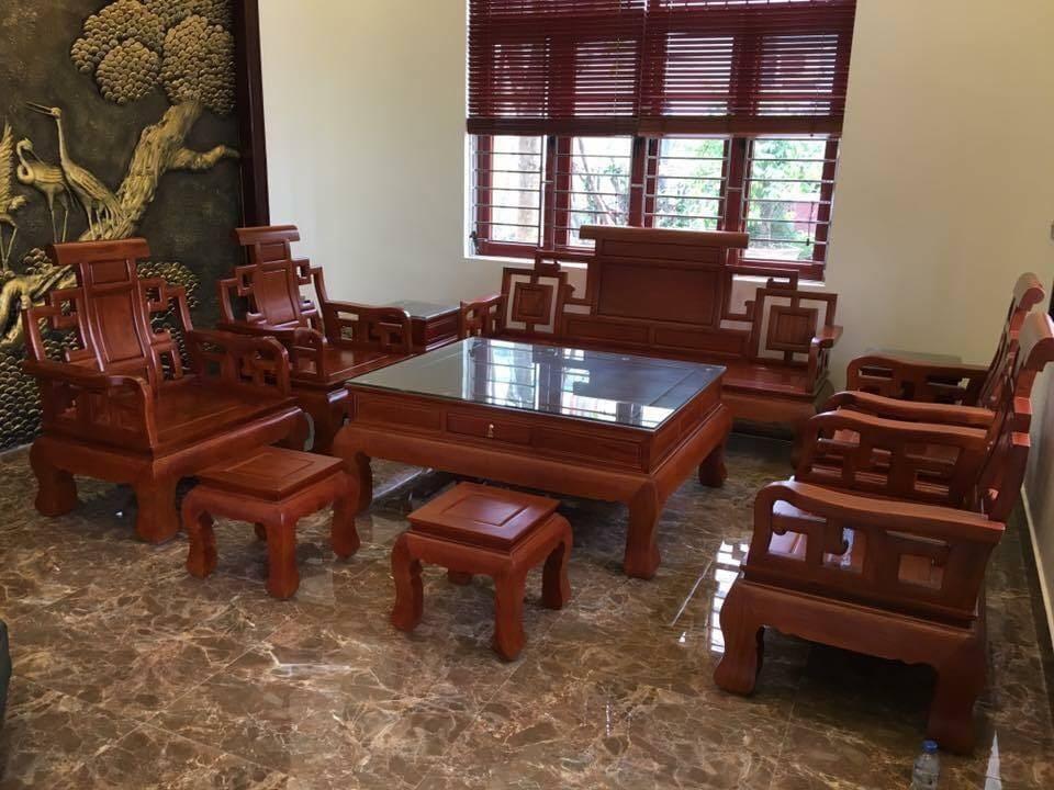 Bộ bàn ghế gỗ tự nhiên