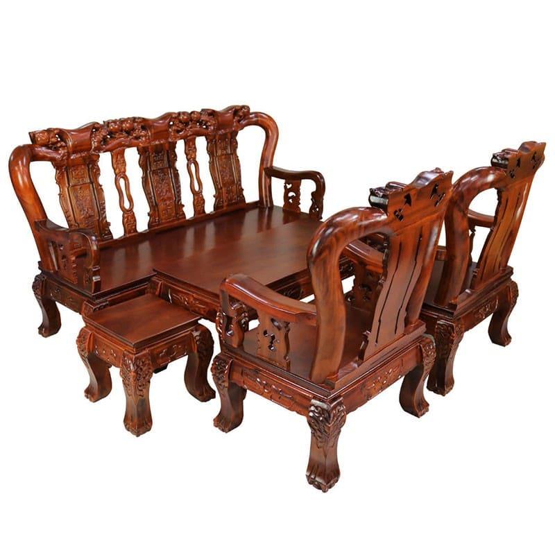 Bộ bàn ghế gỗ xoan đào