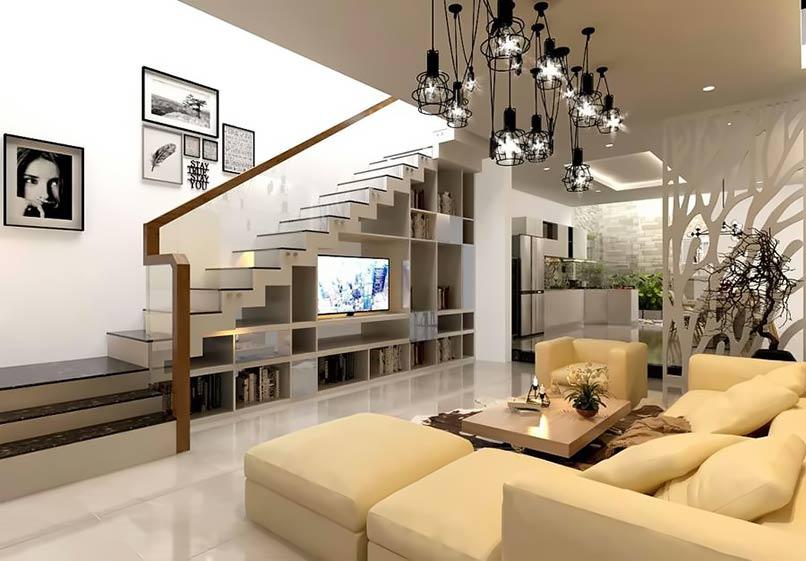 30 Mẫu thiết kế tủ gầm cầu thang HOT TREND năm 2020