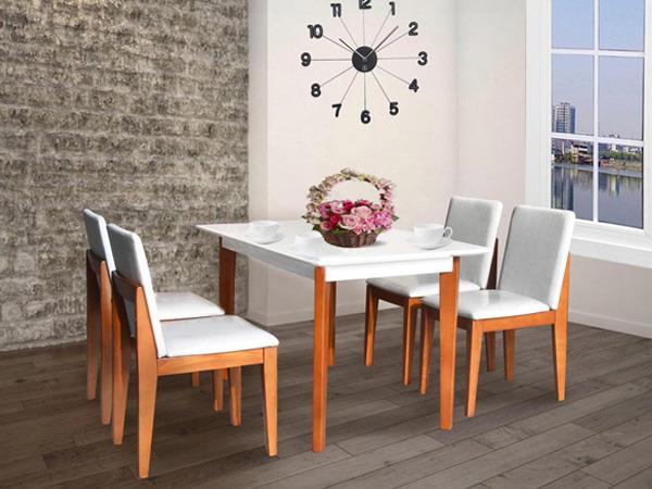 mẫu bàn ăn 4 ghế hiện đại