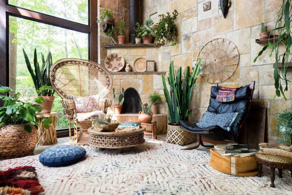 Phong cách thiết kế nội thất du mục