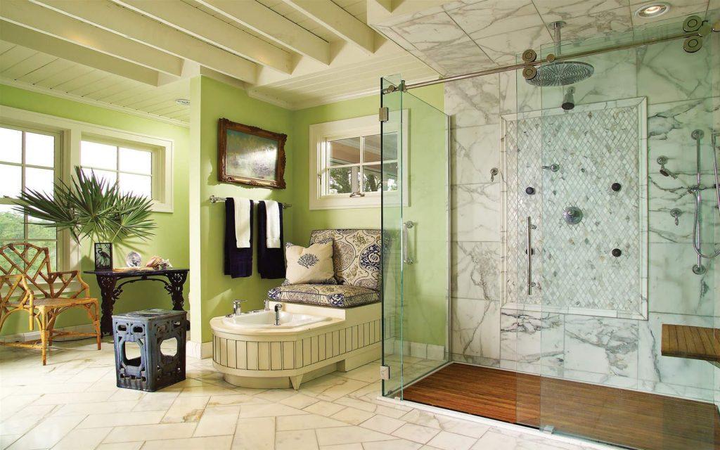 Phong cách thiết kế phòng tắm Vintage hoài cổ