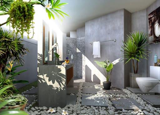 Biến đổi không gian phòng tắm trở nên thú vị hơn