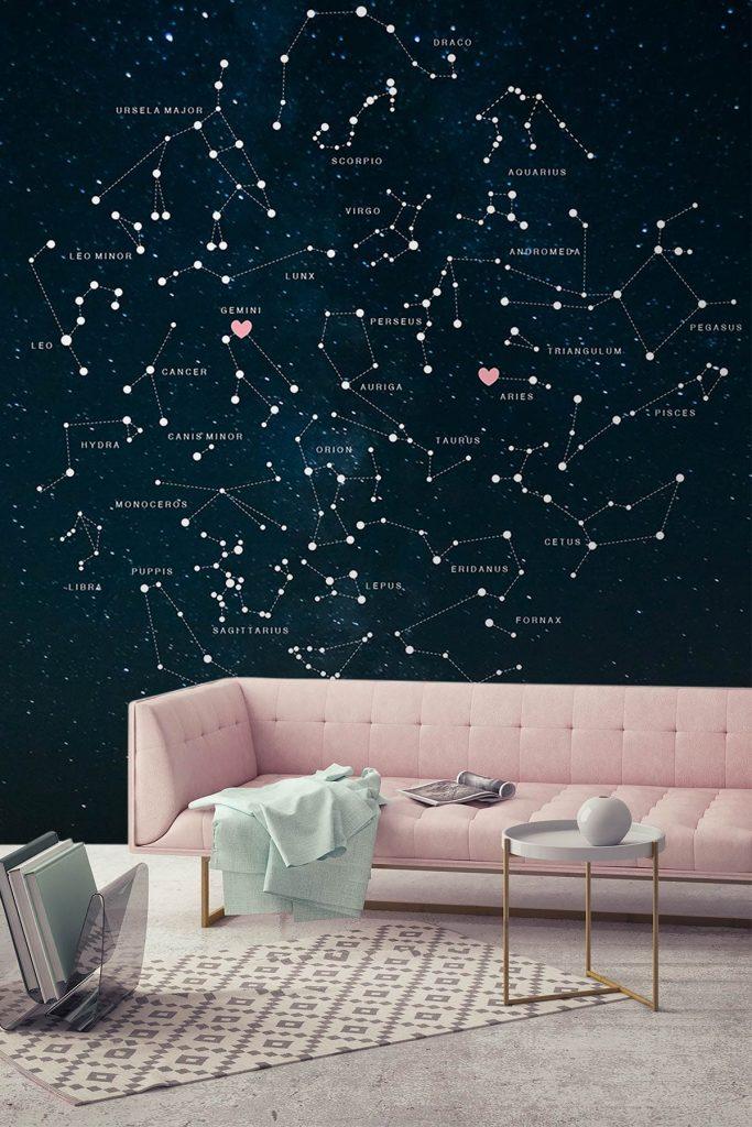 Thiết kế nội thất bằng các chòm sao