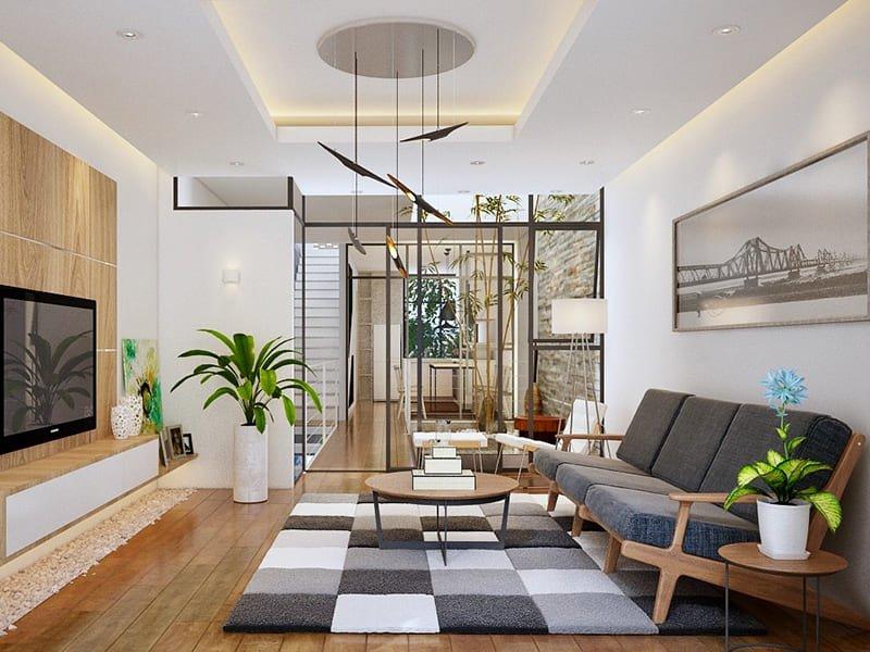 Thiết kế nội thất bằng độ họa hình học