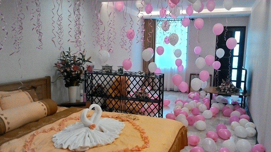Cách trang trí phòng cưới lãng mạn